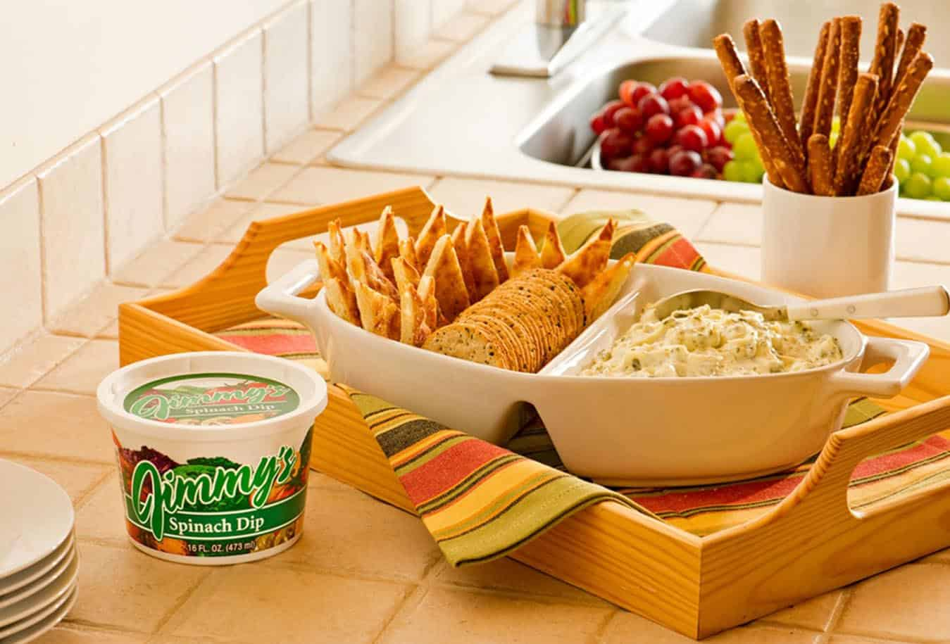 Jimmy's Spinach Vegetable Dip