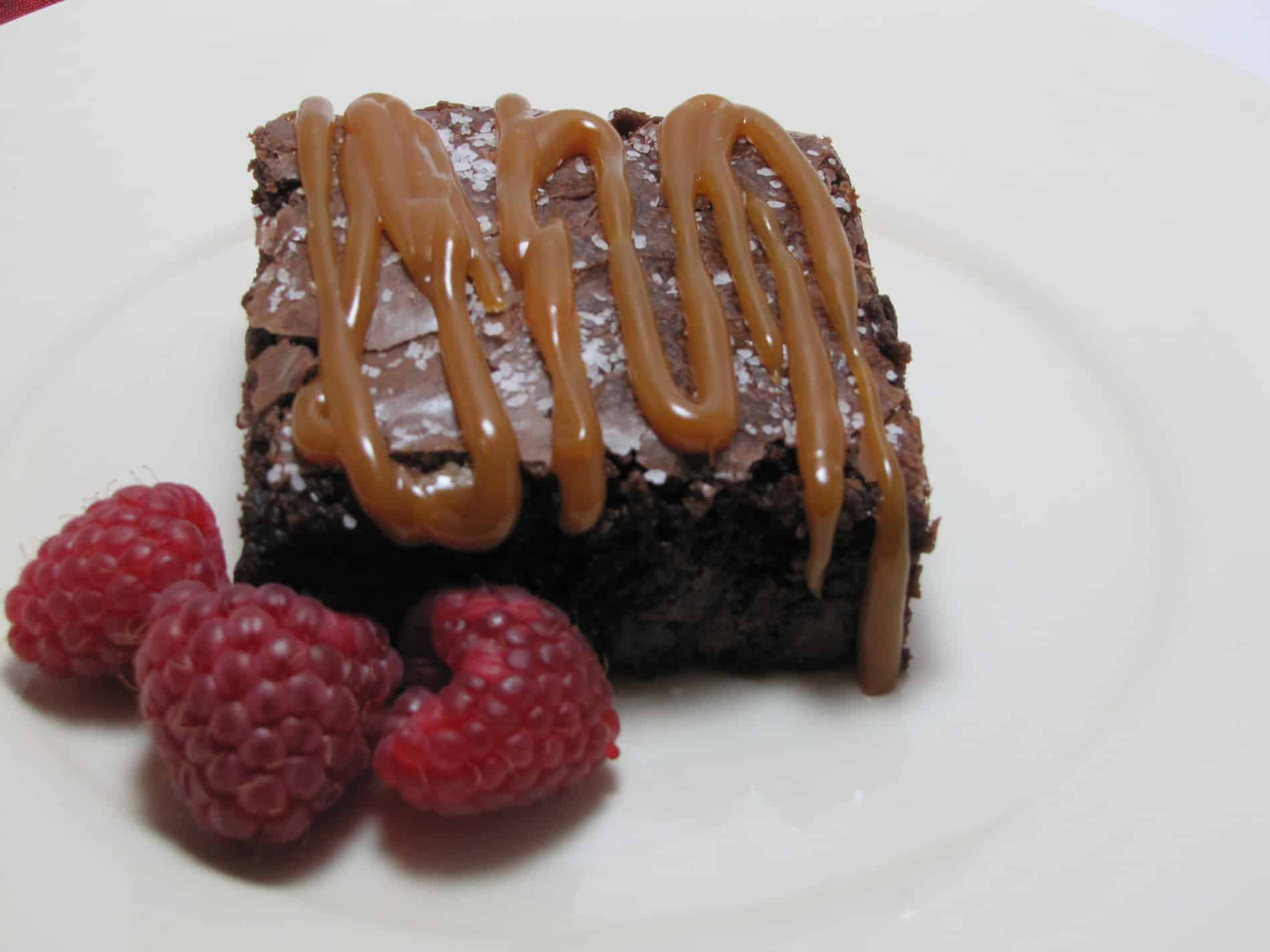 Caramel Sea Salt Brownie Recipe