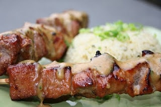 Grilled Pork Kabobs with Holy Smoke! Recipe