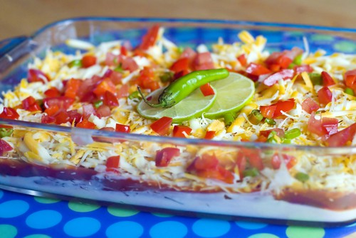 Holy Smoke! Layered Ranch Dip