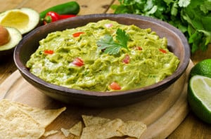 Southwest Guacamole dip recipe