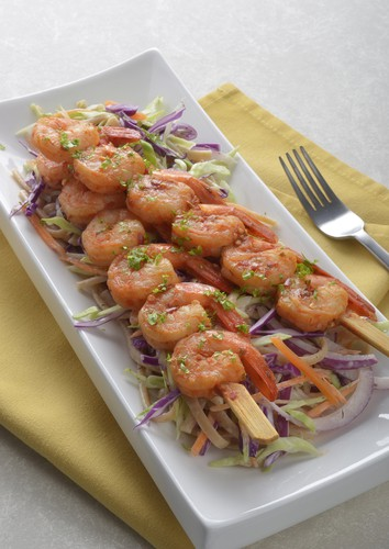 Asian Ginger Shrimp Skewers Recipe