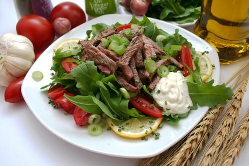 steak und salat diät