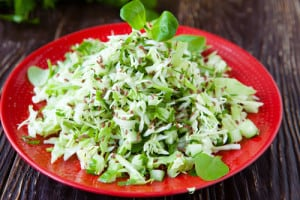 Broccoli Chia Slaw Salad Recipe
