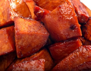 Caramle Sweet Potatoes Recipe