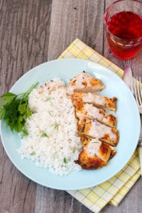 Creamy Dill Chicken & Rice Recipe