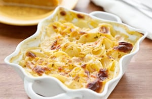 Dill Scalloped Potatoes & Onions Recipe