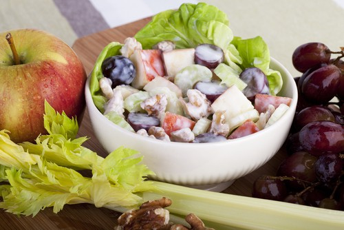 Extra Chunky Blue Cheese Waldorf Salad Recipe