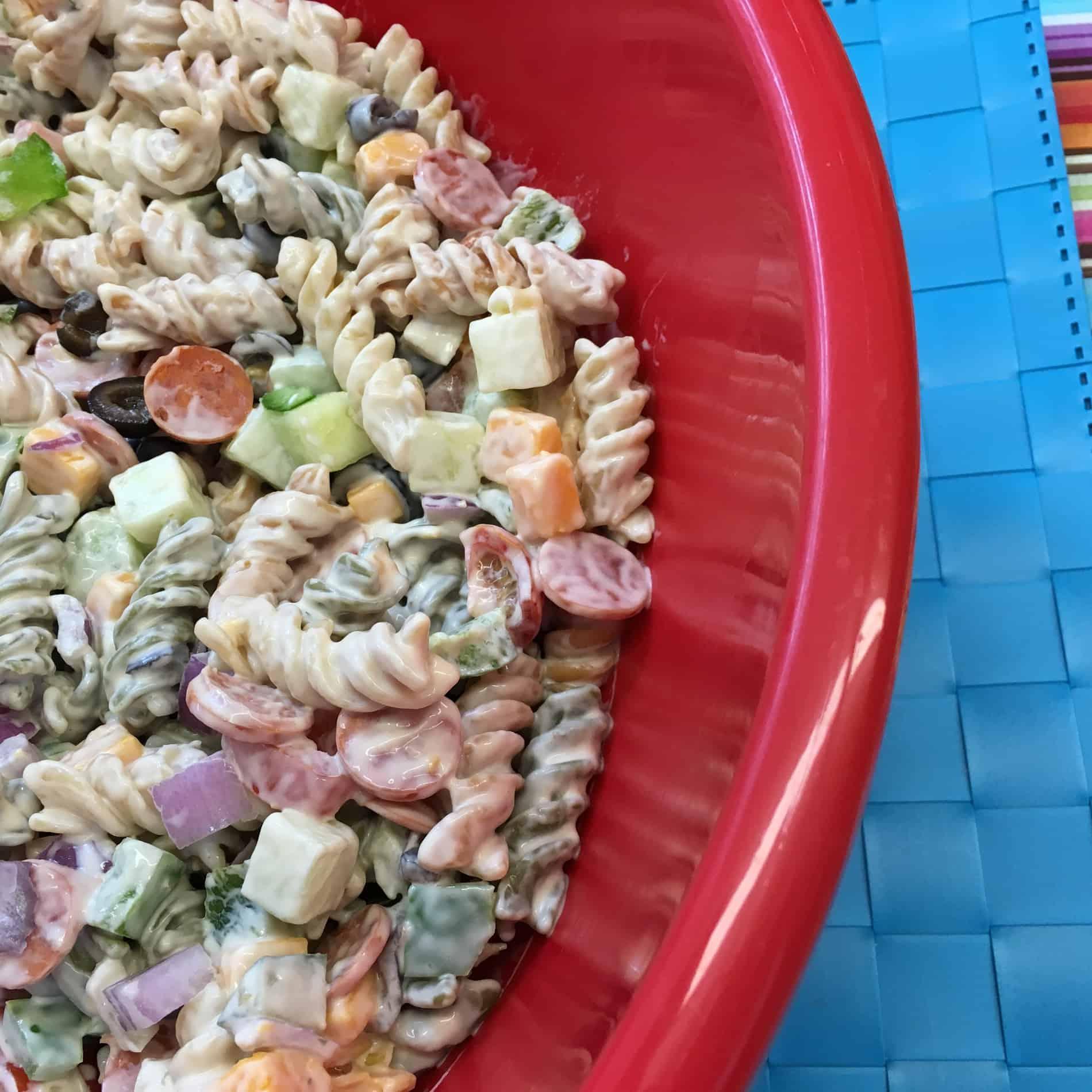 Holy Smoke Pasta Salad recipe