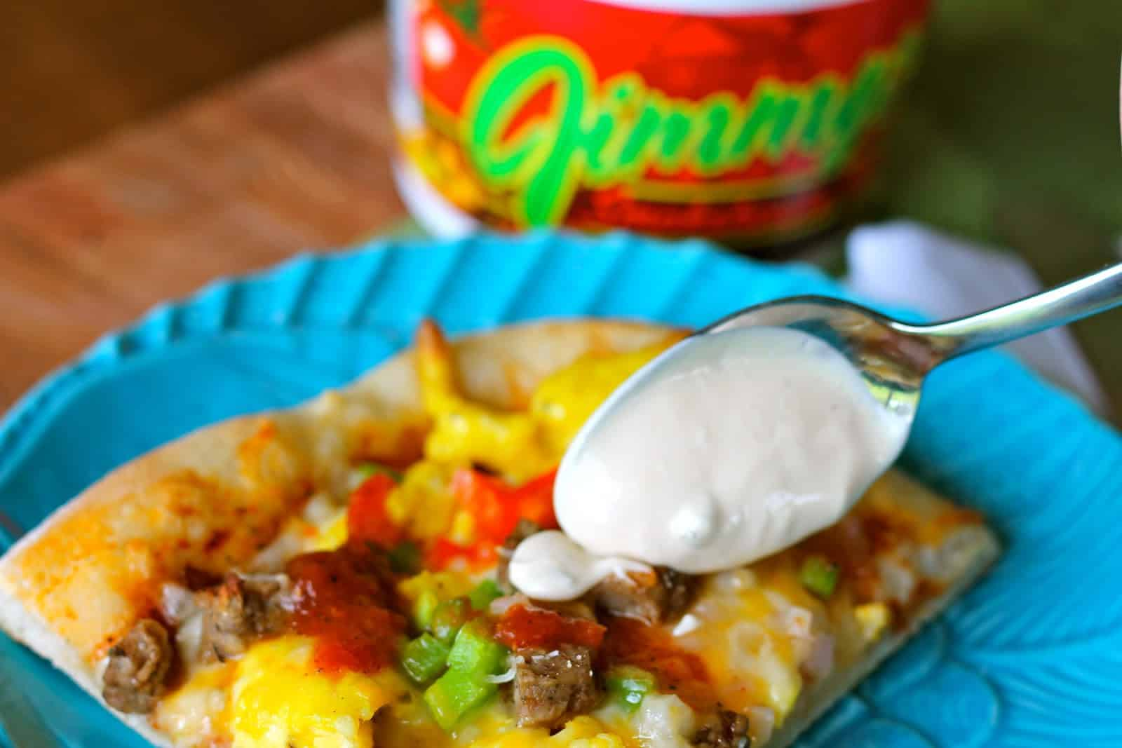 Mexican Breakfast Pizza Recipe