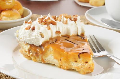No Bake Caramel Cashew Pie Recipe