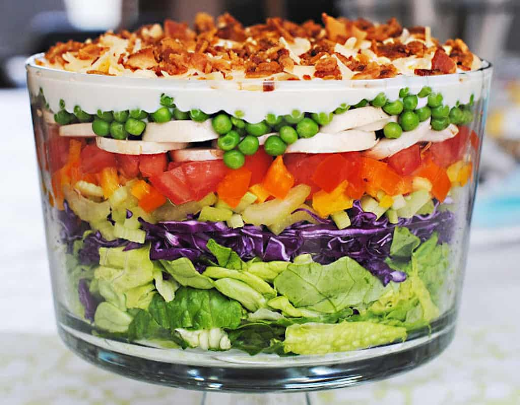 Overnight Lettuce Salad recipe