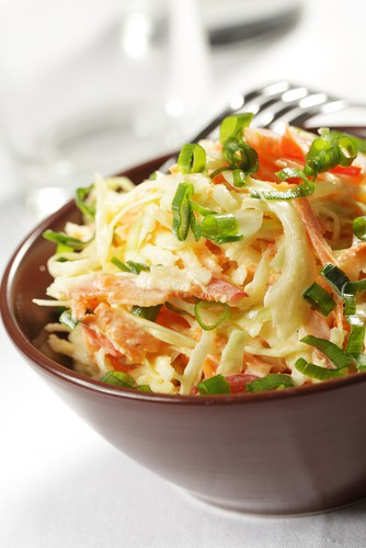 Peanutbutter Asian Slaw Recipe