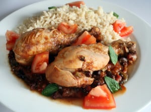 Pineapple Black Bean Chicken Recipe