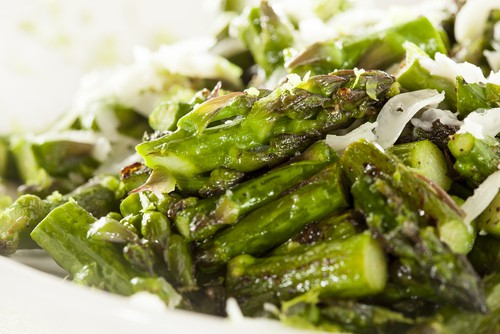 Raw Asparagus Slaw Recipe