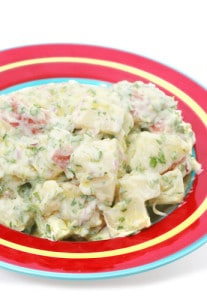 Red Potato, Dill & Peas Salad Recipe