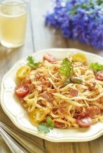 Rueben Spaghetti Salad Recipe