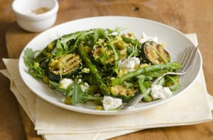 Shaved Raw Asparagus Salad Recipe