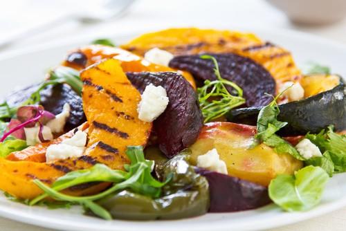 Sweet Potato Salad with Vinaigrette Recipe