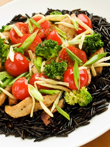 Sweet & Sour Wild Rice Salad REcipe