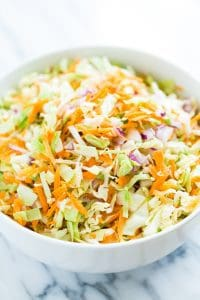 Sweet potato slaw