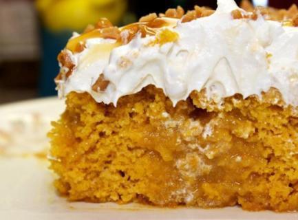 Pumpkin Caramel Cake Recipe