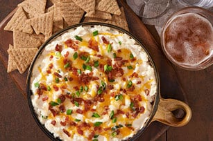Warm Blue Cheese and Bacon Dip recipe