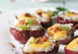 Holy Smoke Loaded Potato Bites recipe