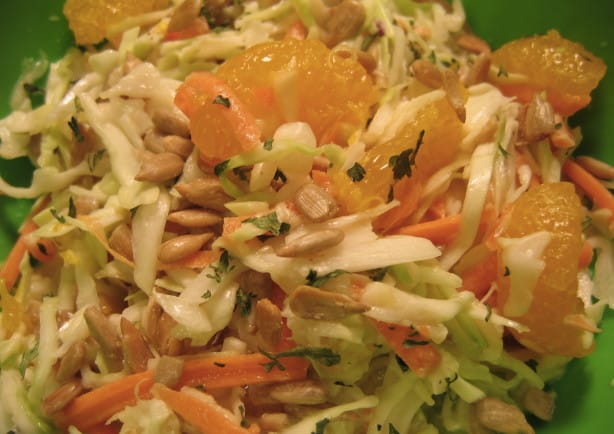 Tropical Coleslaw recipe