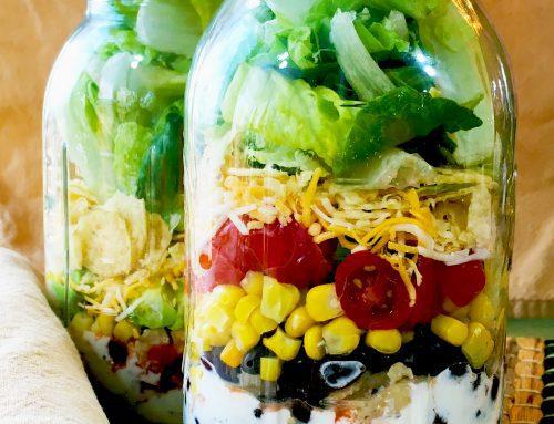 Southwest Salad – In a Jar