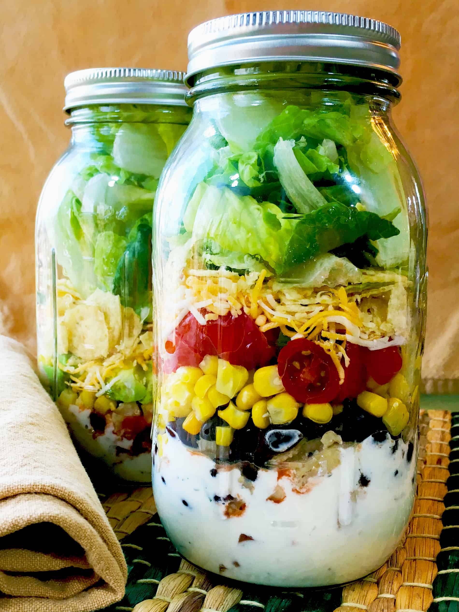 SW Salad in a Jar recipe