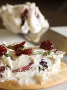 Christmas Cranberry Blue Cheese Dip recipe