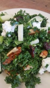 Kale, Bacon & Cranberry Salad recipe