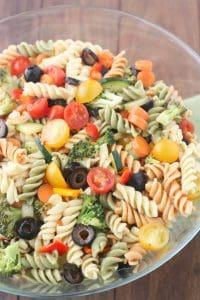 Sweet Italian Pasta Salad