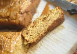 Caramel Pumpkin Bread Recipe