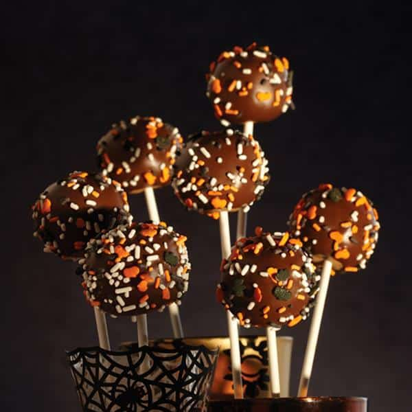 Halloween Cake Pops Recipe