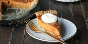 Caramel Pumpkin Pie Recipe