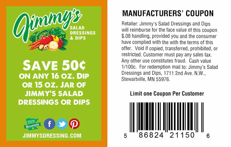 Jimmy's Coupon