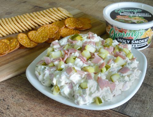 Holy Smoke! Pickle Wrap Dip