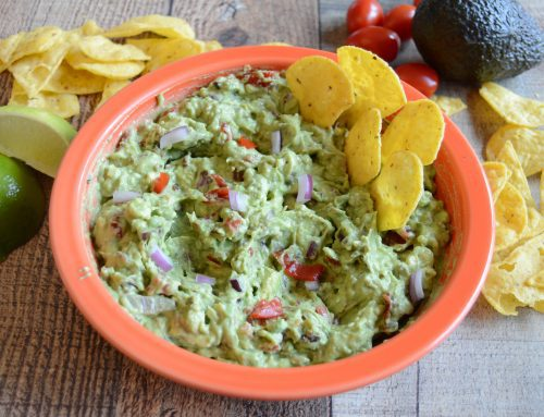 Loaded Holy Smoke! Guacamole Dip