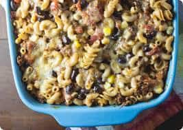 Mexican Pasta Bake Recipe, Mexican Pasta Recipe